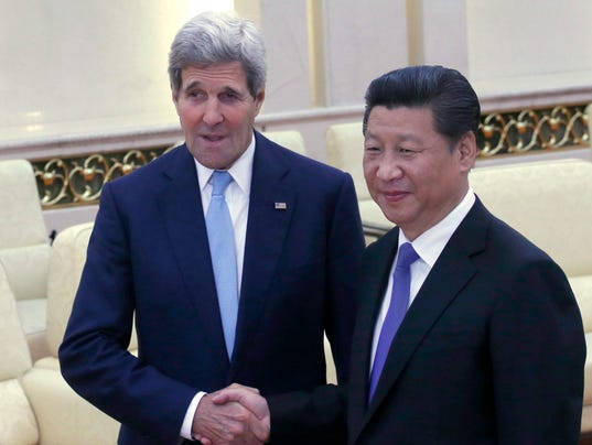 EPA CHINA USA DIPLOMACY POL DIPLOMACY CHN