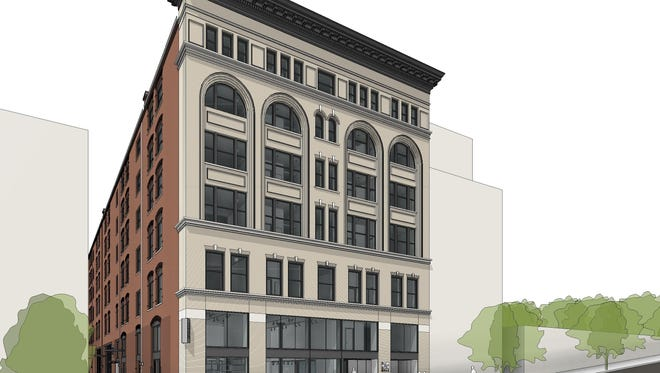 The 21c Museum Hotel, located downtown, is expected to open May 14.