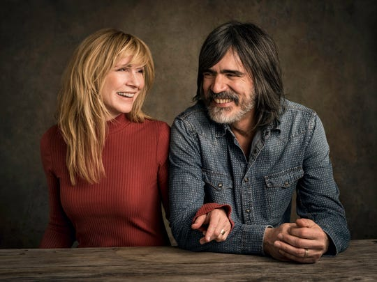 Teresa Williams and Larry Campbell.