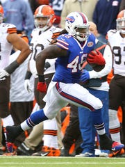 Bills TE MarQueis Gray caught only two passes but both