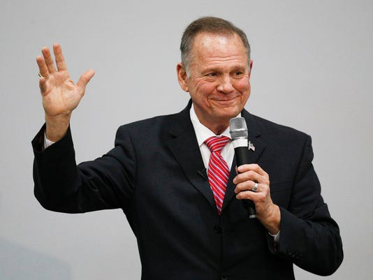 AP ALABAMA SENATE MOORE A ELN USA AL