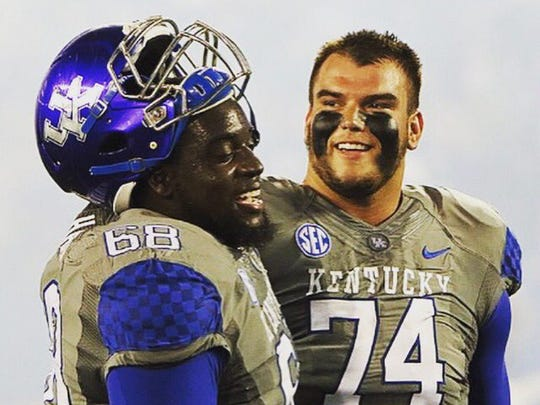 Former Kentucky offensive lineman Cole Mosier announced Wednesday he has signed with Alliance Memphis, the pro football team that is part of the Alliance of American Football league. Play begins in February 2019.