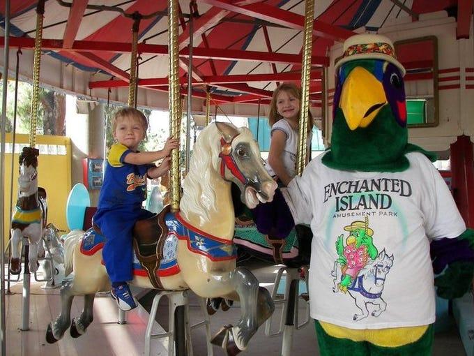 Enchanted Island Amusement Park at Encanto Park in