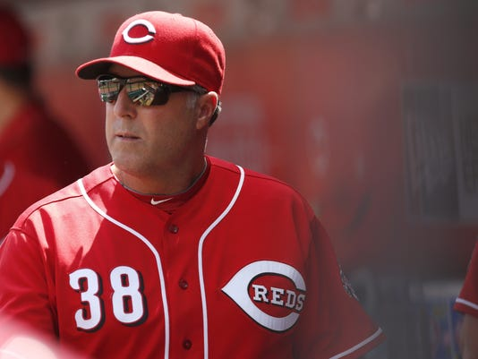 MLB: Los Angeles Dodgers at Cincinnati Reds