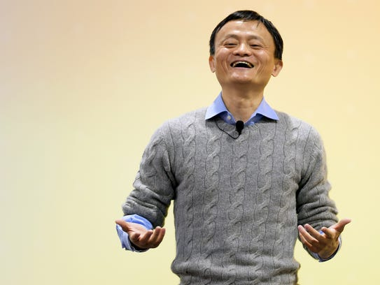 A file picture taken on March 3, 2015 shows Jack Ma,