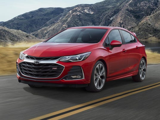 chevy refreshes the malibu cruze and spark for 2019. Black Bedroom Furniture Sets. Home Design Ideas