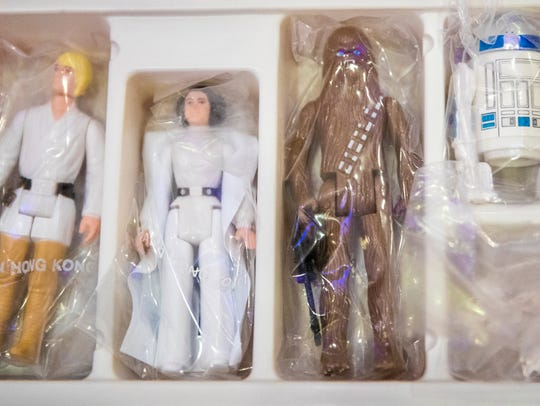 "Kenner created a small version of the ""Star Wars"" characters"