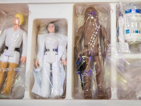 """Kenner created a small version of the """"Star Wars"""" characters"""