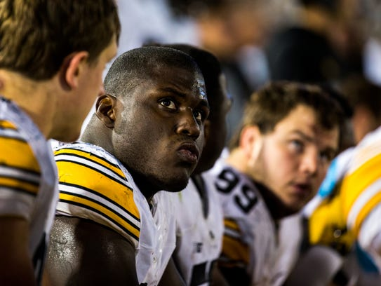 Iowa Defensive Lineman Jaleel Johnson is a potential
