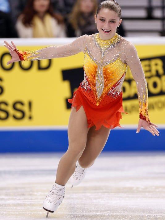 Figure Skating: U.S. Championships-Ladies Short Program