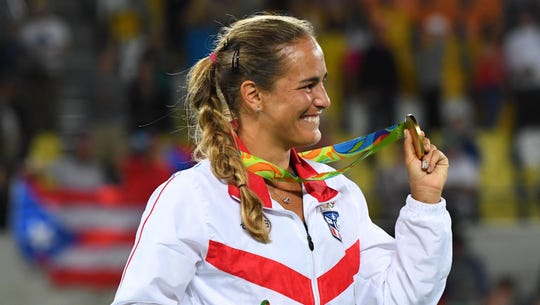 Monica Puig tops Angelique Kerber to claim Puerto Rico's first ever gold