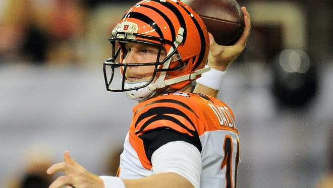 Surrounded by talent, Bengals quarterback Andy Dalton should be a great value on draft day.