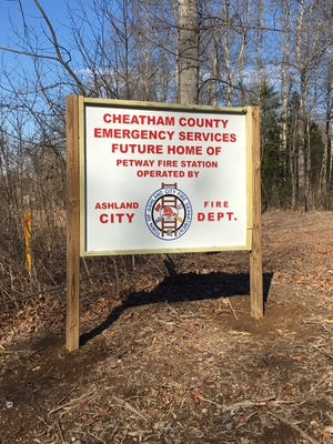 Cheatham County EMA Director and Fire Chief Edwin Hogan said the upcoming fire station on Petway Road will break ground March 14.