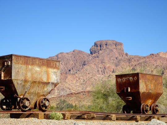 Ore cars once hauled precious minerals out of the Hull