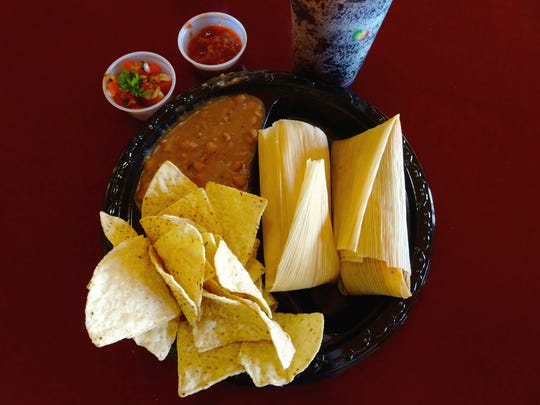 At Tucson Tamale Co., order at the counter and in a
