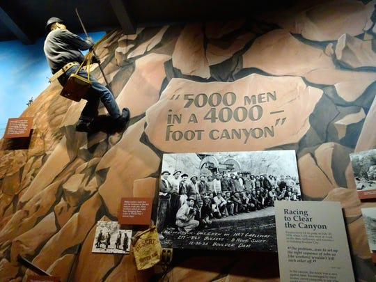 The exhibits, interactive displays and oral histories at Boulder City/Hoover Dam Museum focus on the lives of the dam workers and their families.