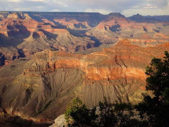 Rangers at Grand Canyon National Park received reports of a person needing help Tuesday afternoon, park officials said. The woman fell from the rim before the rescue effort began.
