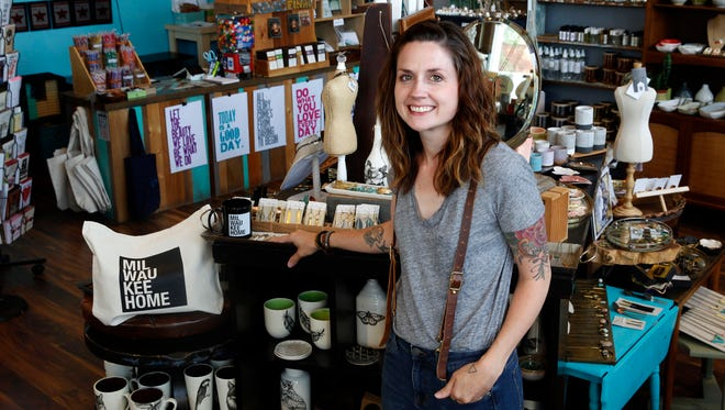 Steph Davies, new owner of MilwaukeeHome, has featured the brand at her store, The Waxwing.
