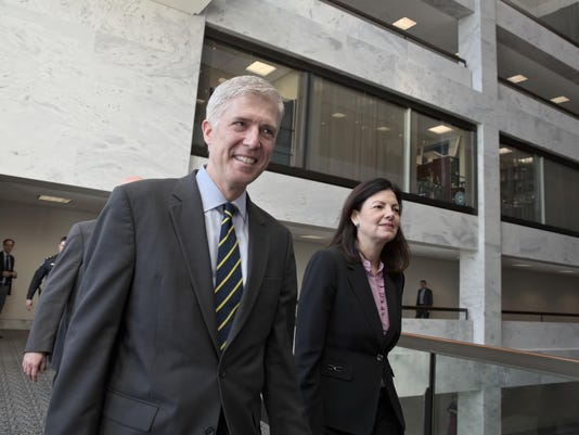 Neil Gorsuch,Kelly Ayotte