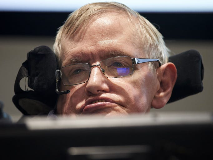 March 14, 2018: Stephen Hawking, one of the world's