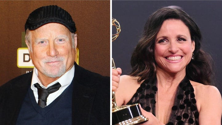 For one, Julia Louis-Dreyfus' dad's name was William.