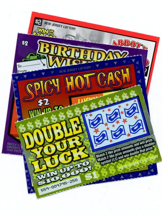 Several Winning Scratch Off Lottery Tickets Sold In NJ