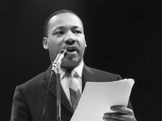 The US clergyman and civil rights leader