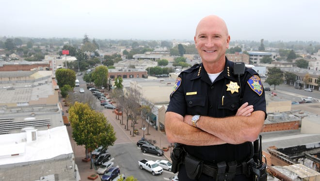 Salinas Police Chief Kelly McMillin retired after 33 years in law enforcement.