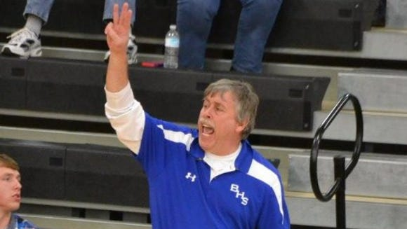 Brevard boys' basketball coach David Siniard resigned Monday