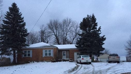 This is one of the homes on Limaburg Road in Boone County that lost power Wednesday. It was restored Thursday morning.