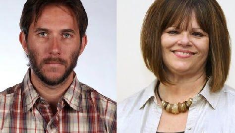 Ryan Schroeder and Carolyn Vaughn