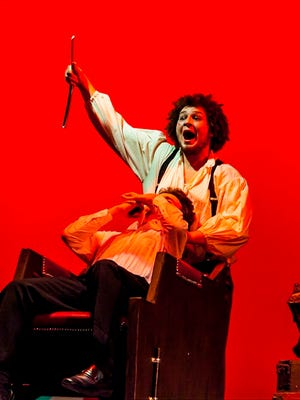 Desmond Daly, as Sweeney Todd, was nominated as Lead Actor in a Musical.