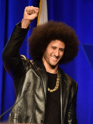 Colin Kaepernick hasn't played in the NFL since the 2016 season.