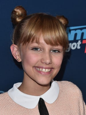 "Contestant Grace VanderWaal attends the ""America's Got Talent"" Season 11 Live Show Aug. 30, 2016 at The Dolby Theatre in Hollywood."