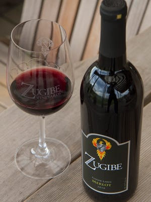 Zugibe Vineyards is located at 4248 East Lake Road in Geneva.