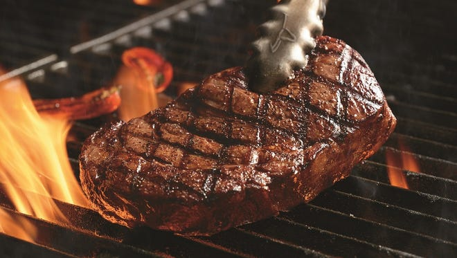 The 14 oz. Delmonico is part of the new menu at Longhorn Steakhouse.