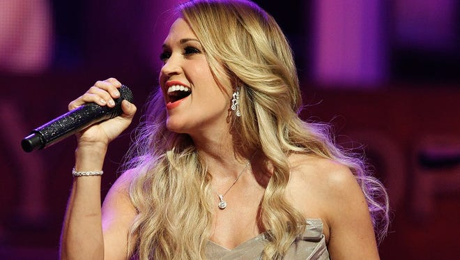 Carrie Underwood closes out Country USA in Oshkosh on Saturday.