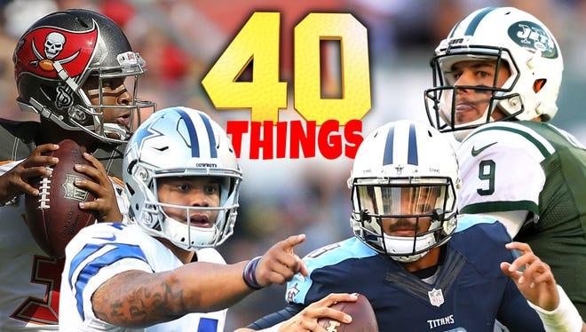 40 things we learned in Week 10.