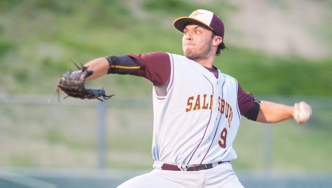 Salisbury University starting pitcher Dan Fein.