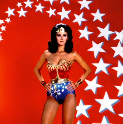 Lynda Carter starred in the TV show