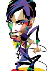 Prince illustration from his 2004 performance in Ames.