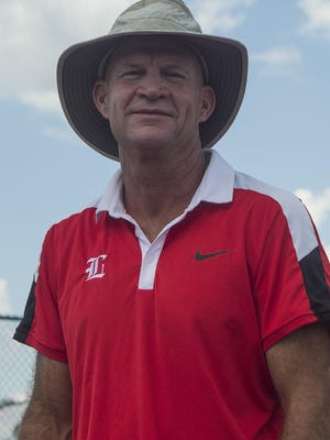 Leon tennis coach Kevin Record will be back on the sidelines for his 15th season in the spring after briefly leaving for three months to become Director of Tennis at his alma mater, Lynchburg College in Virginia.