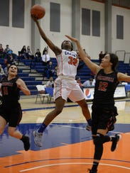 COS freshman guard Dejanee Gill and the Giants won