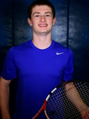 Alex Kauble helped Clyde top Ada in the Ohio Tennis Coaches Association tourney.
