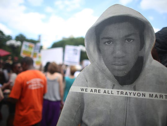 Trayvon reaction