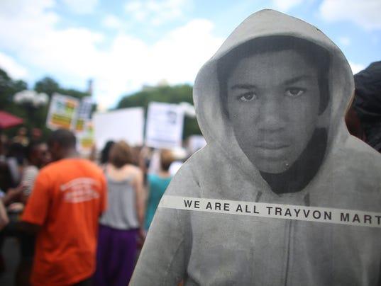 Trayvon reaction