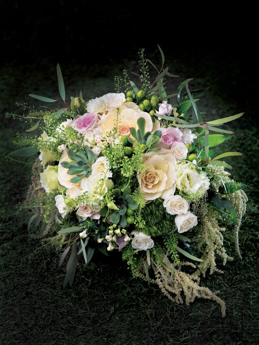 'Green with envy bouquets'