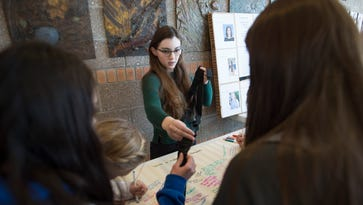 Fort Collins students honor Florida school shooting victims, ask #MeNext?