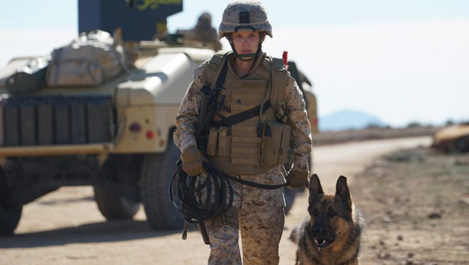"Kate Mara plays the title character in ""Megan Leavey,"" who develops a close relationship with her dog."