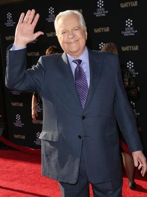 Robert Osborne in April 2013 in Hollywood.
